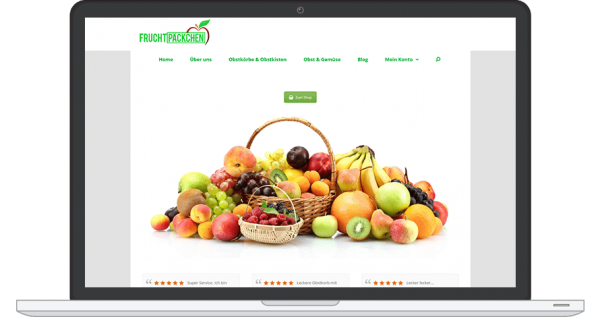 Webseite-verkaufen-Fruchtpäckchen.de