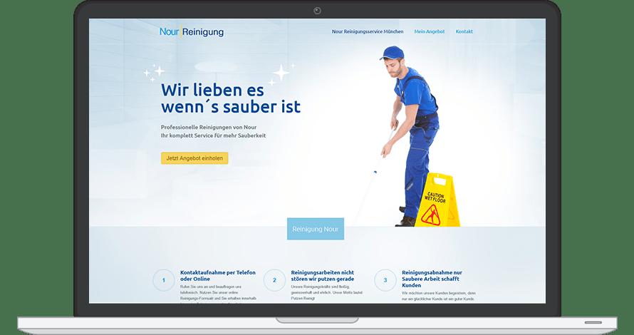 Website verkaufen-Reinigung