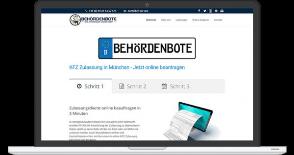 Website kaufen Behördenbote.de