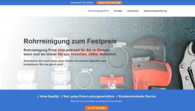 Rohrreinigung Frankfurt